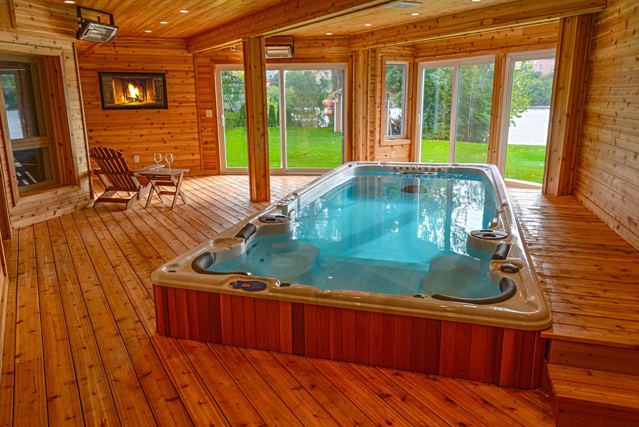 Best Indoor Swim Spa Photos Decoration Design Ideas
